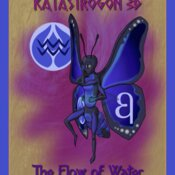 Water Fighterfly Poster 5x7